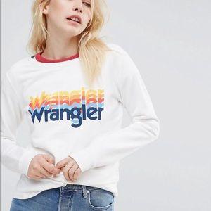 NWT Wrangler gradient rainbow sweatshirt